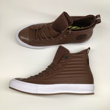 Converse Mens 10 WO 12 CTAS WP Boot Hi Brown Leather Shoes Boots $120 15... - $64.89