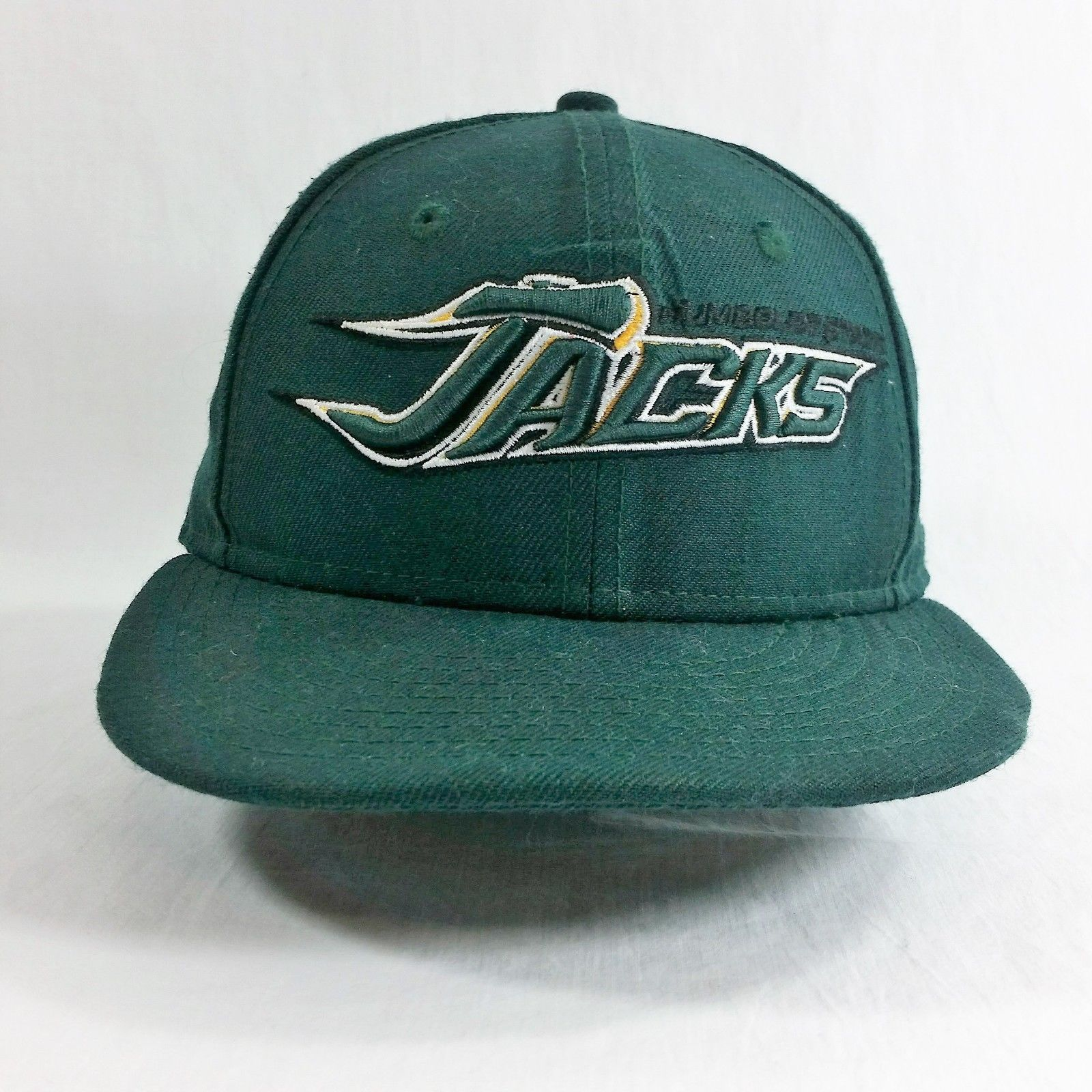 Humboldt State Lumberjacks HSU Fitted Cap Hat New Era 6 5/8 Jacks Wool 5950