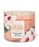 Bath & Body Works Hibiscus Paradise 3 Wick Scented Candle 14.5 oz - $28.04
