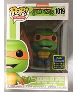 Funko Pop! Television Nickelodeon TMNT Michelangelo w/ Surfboard Figure ... - $99.99