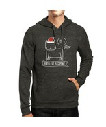Meowy Catmas Santa Cat Is Coming Dark Grey Hoodie - $25.99+