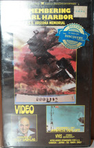 Remembering Pearl Harbor VHS USS Arizona Memori... - $24.32