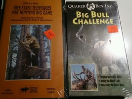 Tree-Stand Techniques for Hunting Big Game VHS ... - $34.21