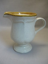 Creamer E C 400 Garden Club Tan Trim Mikasa Discontinue 1976-1983 - $9.95