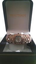 Ladies Waltham Quartz Watch - Rose gold tone with CZs  NIB - $33.66