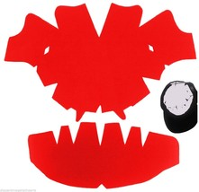 1 Pk. RED-LARGE-Baseball Cap Crown Inserts & Dome Panel Shaper| Hat Shap... - $7.87