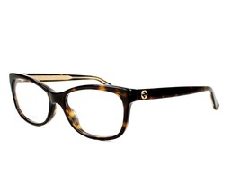 b84438dd6d6 NEW GUCCI GG 3822 eyeglasses RX-ABLE Frame KCL Havana UNISEX Authentic 54MM  -  139.01