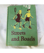 Streets and Roads Vintage Basic Reader William S Gray 1946 Schoolbook 3r... - $18.32
