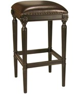 Pair of bar stools - Antique Black -  16.5x16.5x30h   New in Box - $292.05