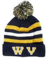 West Virginia WV Men's Winter Knit Cuffed Pom Beanie Toboggan Hat Navy B... - $11.95
