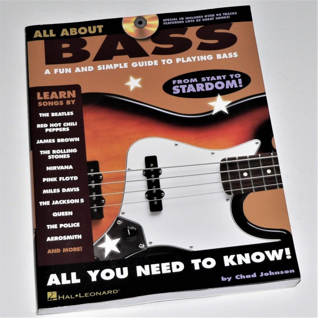 Primary image for ALL ABOUT BASS - Fun and Simple Guide To Playing Bass - Book & CD - Excellent