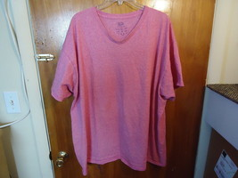 """Fruit Of The Loom Size 2 XL Pink Short Sleeve Shirt """" - $10.39"""
