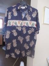 Campia Men Shirt Medium Short Sleeve Drinking Shirt!!! It's 5 O'clock So... - $4.99