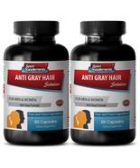 Produce Melanin Capsules - Anti-Gray Hair Solution 1500mg - Hair Growth 2B - $24.70