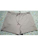 Women's Reebok Athletic Yoga Beach Lounge Shorts Green 100% Cotton Sm - $7.92