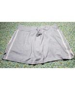 Coco Blue Juniors Athletic Skort Skirt Heather Grey Tennis Golf Sz Large - $7.92