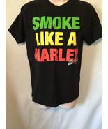 Smoke Like A Marley T-Shirt Black Small - $9.90