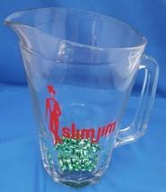 Vintage Glass Slim Jim Advertising Pitcher - $25.00