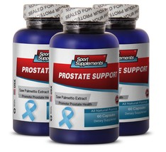 Pygeum Africanum - Prostate Support 1600mg - Balance the Metabolism Pills 3B - $34.60