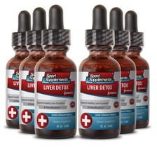Red Ginseng Root - Liver Detox Complex 30ml - Supports Detoxification Dr... - $64.30