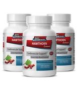 Premium Hawthorn Berry - Hawthorn Leaf Extract 665mg- Lower Cholesterol 3B - $35.59