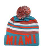 Miami City Hunter Men's Winter Knit Cuffed Beanie Toboggan Hat Cap Aqua/... - $11.95