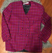 Womens Vintage Double Breasted Evan Picone Woma... - $13.52