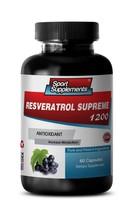 Trans Resveratrol - Resveratrol Supreme 1200mg -  Anti-Aging, Antioxidant 1B - $14.80
