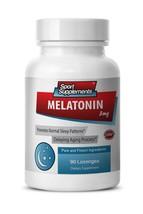 Stress Relief Supplement - Melatonin 3mg Cherry Flavor - May Extend Live 1B - $6.88
