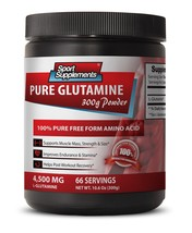 Glutamine Muscle - Pure Glutamine Powder 4500mg - Keep Your Brain Alert 1B - $19.75