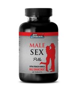 Testosterone Libido Booster - Male Sex Pills 1275mg - Greater Satisfacti... - $14.80