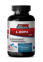 L-Dopa Capsules - L-Dopa 99% Extract 350mg - Ma... - $16.78