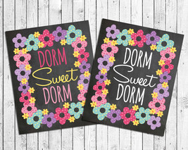 College Decor Dorm Sweet Dorm 8x10 Wall Art Poster Print - $7.00