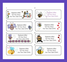 BEES, Bumble Bees Return Address Labels - $1.75
