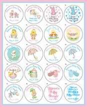 "Baby Shower 2"" Round Custom Labels - 20 per sheet - $3.25"