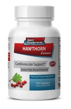 Cardiovascular Support - Hawthorn Extract 665mg - Hawthorn Berry Supplement 1B - $15.79