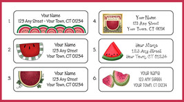 Watermelon Return Address Labels - $1.75