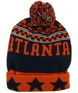Atlanta Men's Thick Warm Winter Knit Cuffed Beanie Toboggam Hat Red/Blac... - $11.95