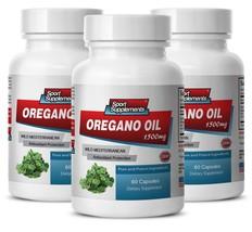 Oregano Oil Extract - New Oregano Oil 1500mg - Immune System Recovery 3B - $34.60