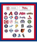 MLB Address Labels Baseball Return Address Labels, Sports Teams - $1.75