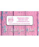Perfectly Posh CATALOG or Address LABELS, Home Parties - $1.75