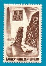 St. Pierre et Miquelon (mint postage stamp) 1947 Local Motives #347 - $1.99