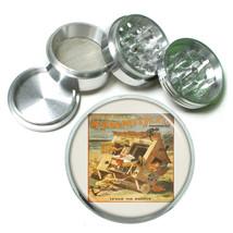 "Vintage Poster D130 Aluminum Herb Grinder 2.5"" 63mm 4 Piece McFaddens Flats  - $13.81"