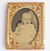 2. Antique Collectibles: Ambrotype in gilt frame C.19thC - $48.58