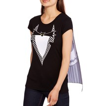 NWT Disney Junior's Nightmare Before Christmas Graphic Cape Tee XL Top T-Shirt - $13.29