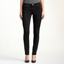 NWT $88 Women's Rock & Republic Berlin Black Skinny Jeans Size 4 - $40.84