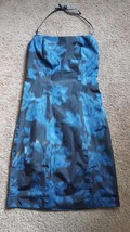 NWT $98 Express Women's Junior's Blue Hawaiian Dress Size 1 2 Party Sexy... - $33.24