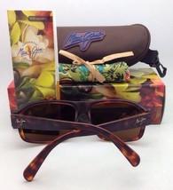 Polarized MAUI JIM Sunglasses MALIHINI MJ 702-10 Tortoise Brown w/HCL Bronze