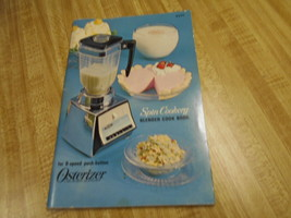 oster spin cookery book Osterizer recipe book from 1966 - $18.95