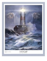 I Am The Light by Danny Hahlbohm - 16x20 Unframed Matted Print - $39.95
